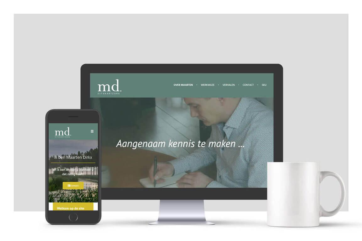 Website MD Uitvaartzorg