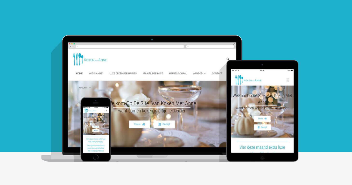 Website Koken met Anne