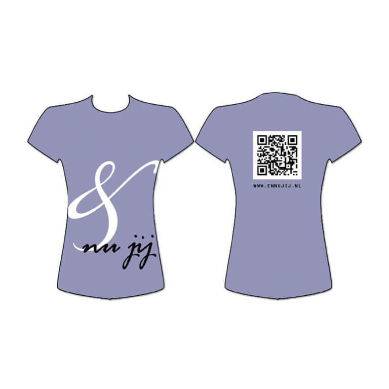 Promotie T-shirt ontwerp En nu jij